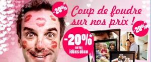 Offre promo Saint Valentin