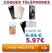 Coques téléphones mobiles