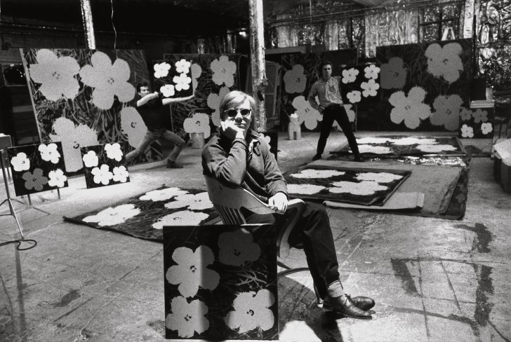 expo-photo-ugo-mulas-Andy-Warhol-Philip-Fagan-et-Gerard-Malanga-New-York-1964